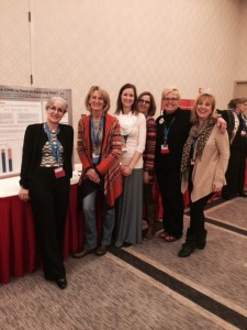 D203 nurses with poster winner